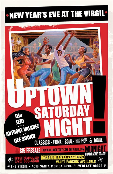 new year celebrations saturday uptown saturday new year s at the virgil with