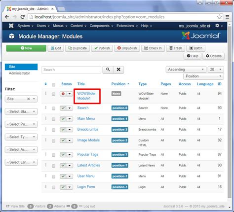 joomla tutorial login module joomla module tutorial