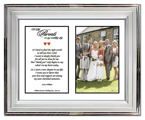 Wedding Gift To Parents by Wedding Gifts For Parents From Or