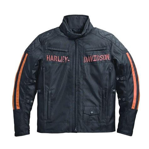 riding jacket for men harley davidson mens foley waterproof textile riding jacket