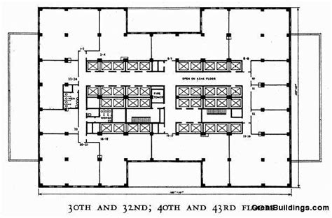 empire state building floor plans great buildings drawing empire state building 30th