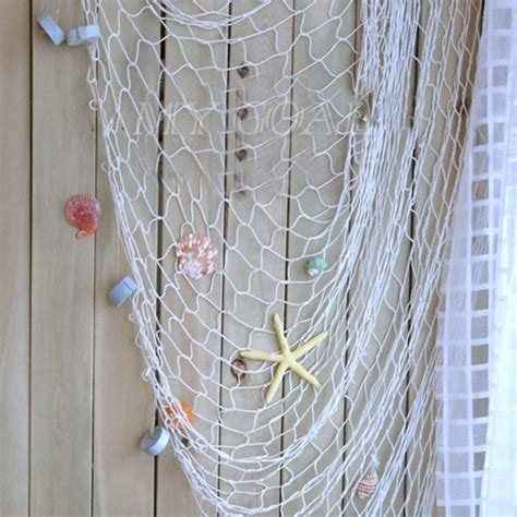 Fish Net Decoration Ideas by Decorative Nautical Fishing Balloon Net