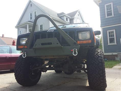 Jeep Xj Stinger Bumper Elite Shorty Winch Stinger Front Bumper Jeep Xj