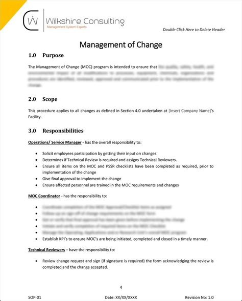 Iso 9001 2015 Quality Management System Documentation Template Package Wilkshire Consulting Quality System Procedure Template