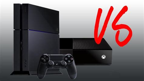 xbox one vs ps4 console microsoft xbox one vs sony ps4 which console is right for