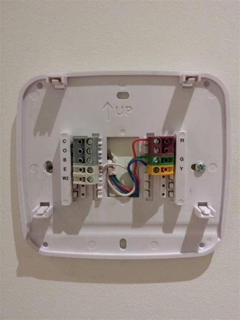 hvac    modify   wire thermostat