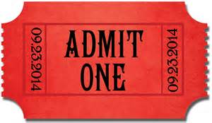 admit one ticket invitation template search results for ticket calendar 2015