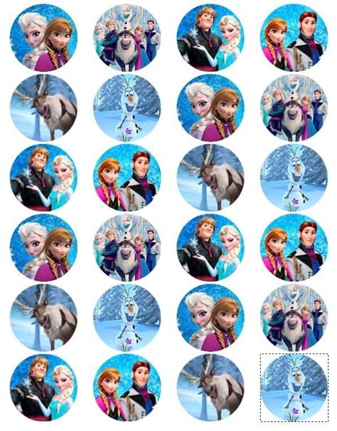 printable disney frozen cupcake toppers 25 best ideas about frozen cupcake toppers on pinterest