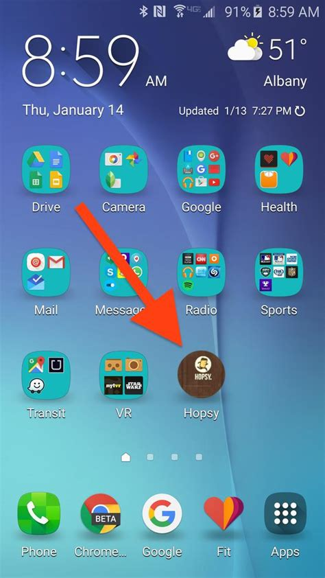 organize your android phone s home screen the