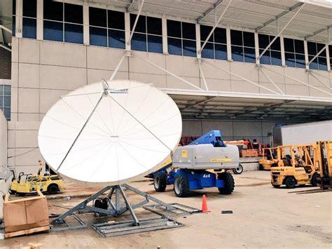 challenger 3 8 meter prime focus satellite antenna system