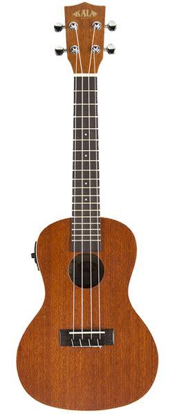 Ukulele Grande Uk 21m Bl Suprano kala ka ce satin concert ukulele with kala uk 300tr w eq