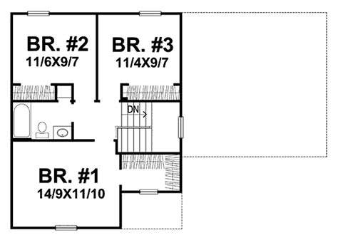 richardson homes floor plans the richardson 1675 3 bedrooms and 1 bath the house designers