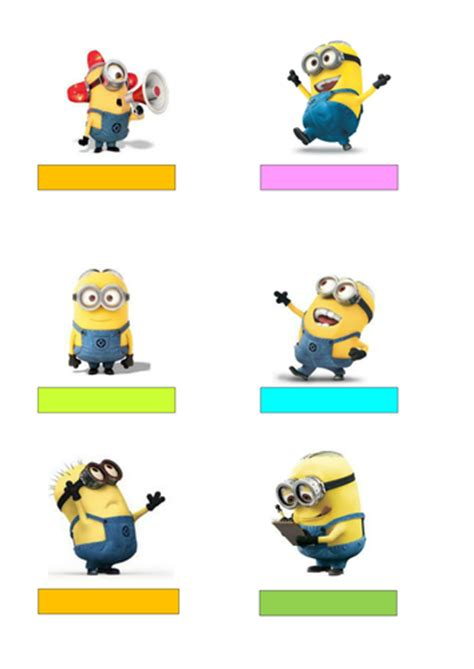 free editable name tags minions minions pinterest new literacy framework long term planner by sharon1142