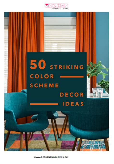 50 s color scheme 50 striking color scheme decor ideas modern console tables