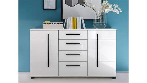 kommode weiß hochglanz 150 cm sideboard cantara kommode in wei 223 hochglanz b 150 cm