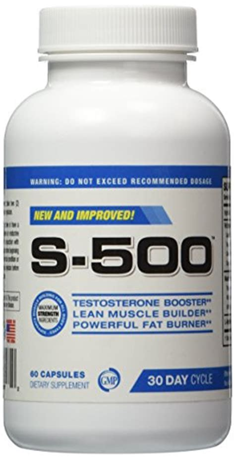 s 500 supplement testosterone supplement s 500 concentrated capsules