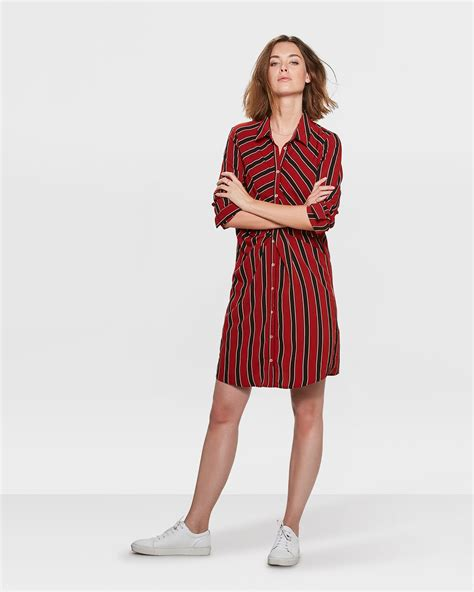Stripe Twist stripe twist jurk 81355389 we fashion