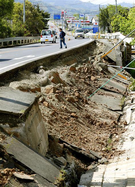 earthquake in japan aftershocks widespread damage after deadly japan
