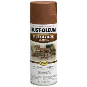 Rust oleum stops rust 12 oz multi colored textured rustic umber