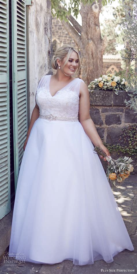 Wedding Hair Dress With Straps by Plus Size Perfection Wedding Dresses It S A Story