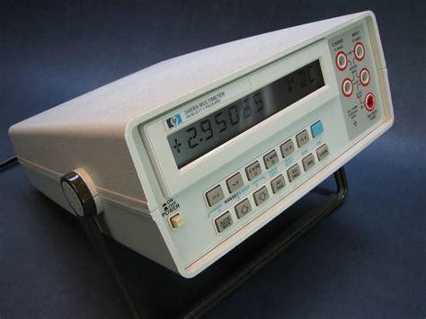 bench multimeter hp 3468a bench multimeter repair mr modemhead