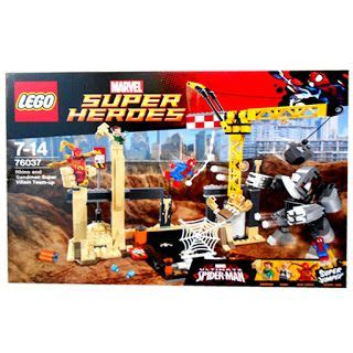 Mainan Lego Heroes Xinh 2 mainan anak dan hobi dari mahkota toys jual lego rhino and sandman marvel heroes