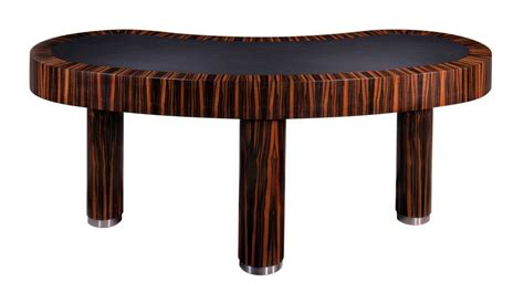 unique desks kidney shaped desks for antique look