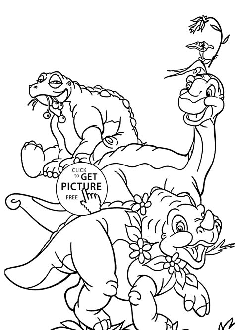 land before time coloring pages land before time ducky coloring pages www imgkid