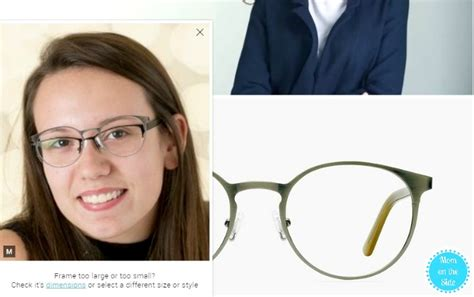 virtually try on eyeglasses with eye buy direct on