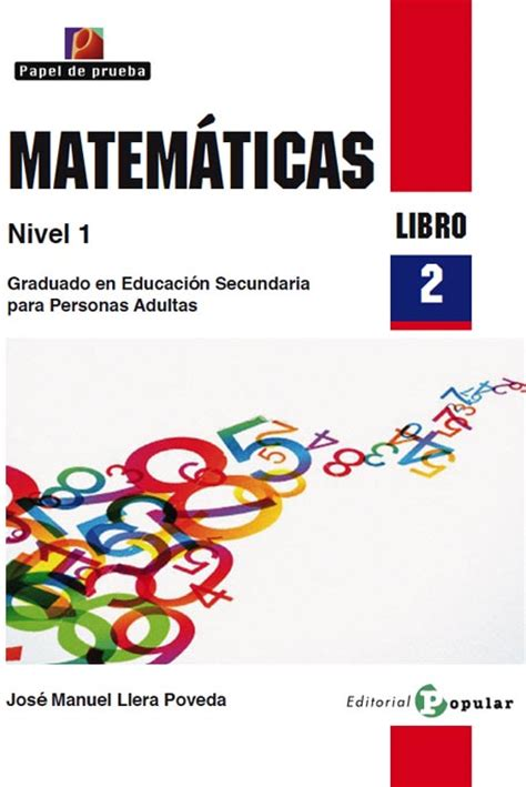 el libro de matematicas editorial popular popular publisher