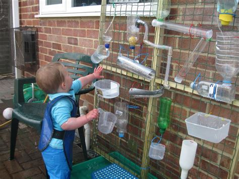 Backyard Water Play by Water Wall Pre School Play