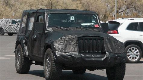 2018 jeep grand wagoneer spy 2018 jeep wrangler everything we know
