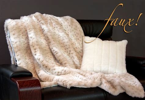 Best Faux Fur Blanket by Lush Plush Trends From Fabric Faux Fur Blanket And