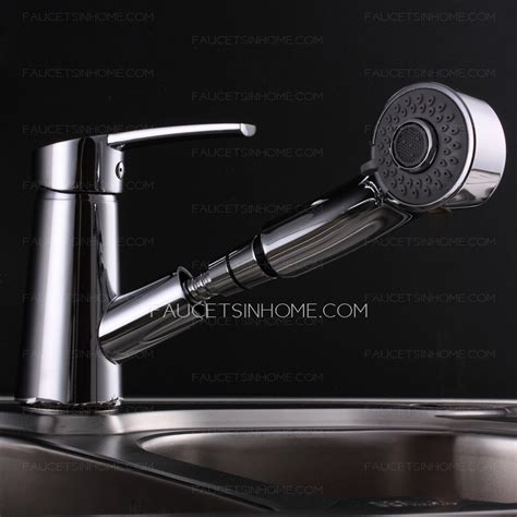 Dual Faucet Bathroom Sink by Modern Pullout Spray Dual Function Shower Bathroom Sink Faucet