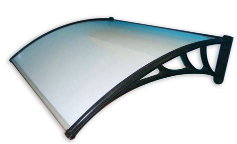 pensilina tettoia in policarbonato plexiglass pensilina in policarbonato 120x100 cm struttura in abs