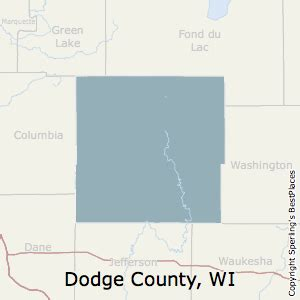best places to live in dodge county wisconsin