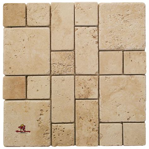 installing french pattern travertine tiles ivory square mini french pattern travertine los angeles