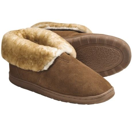 mens shearling slippers mens lamo shearling slippers review of lamo bootie