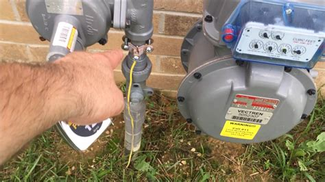 Grounding Meter gas meter grounding deemed ok by the gas company