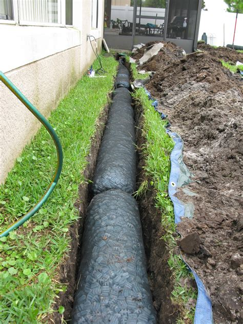 how to install french drain in backyard french drains systems griffin air llc