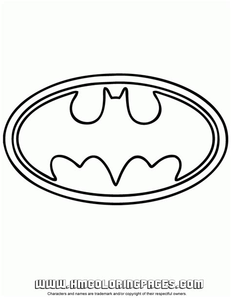 coloring pages of the batman symbol batman logo symbol coloring page h m coloring pages