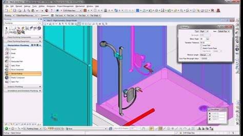 home design software electrical and plumbing plumbing design with bentley building mechanical systems