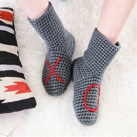 socks handmade slipper socks handmade with xo design by eka