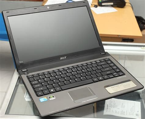 Laptop Acer Aspire 4741 I3 Second Jual Laptop Bekas Second Garansi Like New Acer Aspire 4741