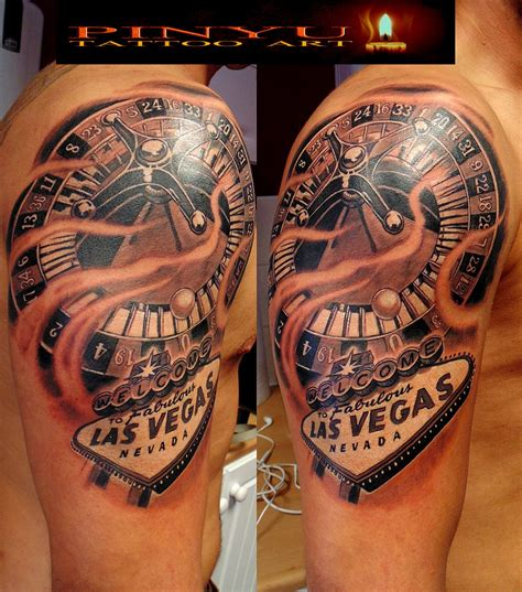 vegas tattoo designs ideas vegas