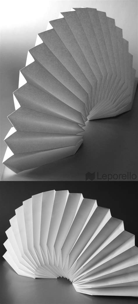 Paper Fan Origami - top 25 ideas about origami tessellations on