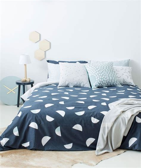 milk linen design crescent quilt cover milk sugar homeware homes