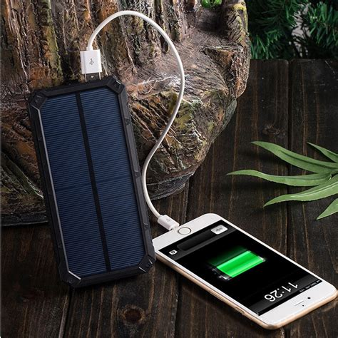 Power Bank Solar 20 000mah powerbank externe accu power solar 20 000mah