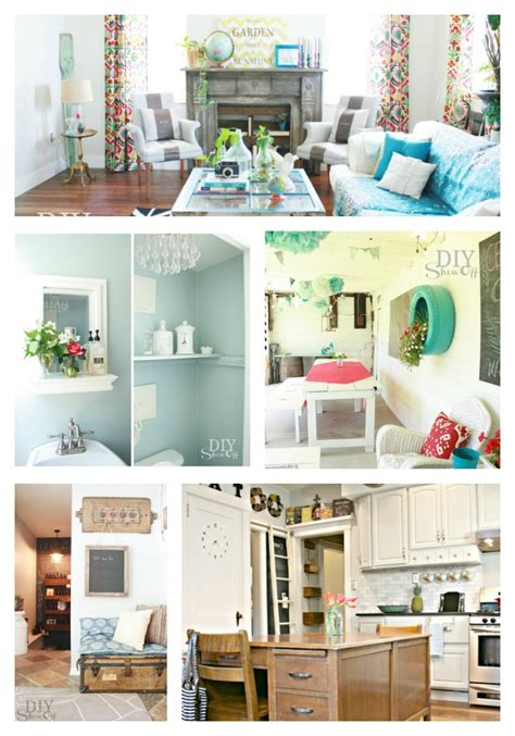 home decor bloggers diy show off a do it yourself home improvement and
