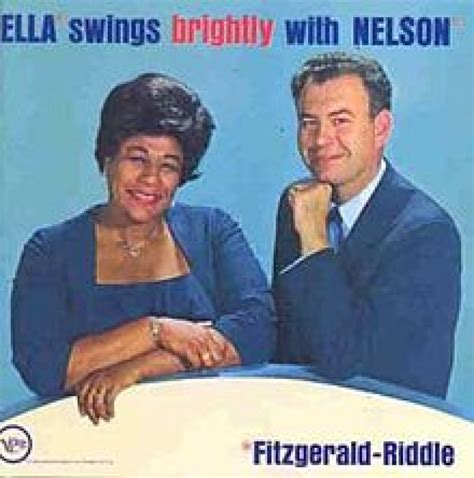 Ella Fitzgerald Swing - ella fitzgerald swings brightly with nelson lp